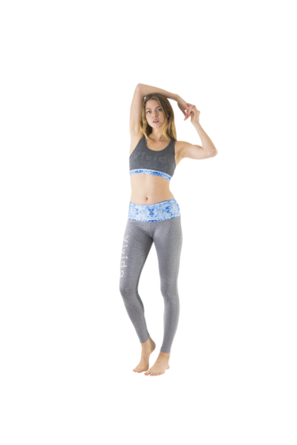 Bohemain Blue Leggins