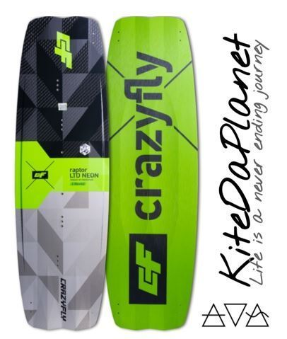 CrazyFly Raptor LTD NEON 2021 TwinTip Kiteboard