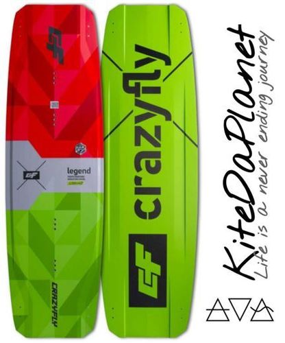 CrazyFly Legend 2021 TwinTip Kiteboard