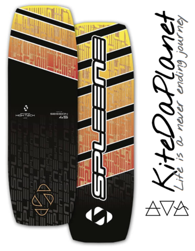 SPLEENE High Tech SESSION 45 2021 Twintip Kiteboard